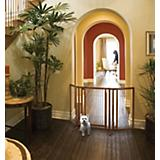 Richell Premium Plus Freestanding Pet Gate w/ Door