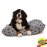 West Paw Pillow Dog Bed Cobalt Groove