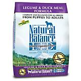 Natural Balance LID Legume/Duck Dry Dog Food