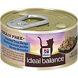 Hills Ideal Balance Grain Free Trout Cat Food 24pk