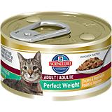 Science Diet Perfect Weight Can Cat Food 24pk