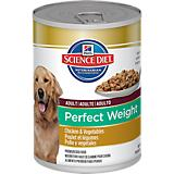 Science Diet Perfect Weight Can Dog Food 12pk