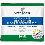 Vets Best XLarge Oxy-Action Dog Training Pads