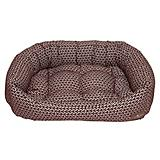Jax and Bones Premium Napper Bed Eve Chocolate