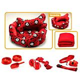 Woof N Roll 12 Piece Dog Bed Set