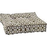 Bowsers Piazza Courtyard Grey Dog Bed