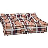 Bowsers Piazza Kensington Plaid Dog Bed