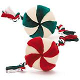 Grriggles Peppermint Wheel Dog Toy