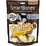 SmartBones PlayTime Dog Chews Peanut Butter