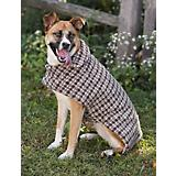 Fashion Pet Reversible Barn Dog Coat