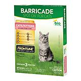 Barricade By BioSpot Flea Tick Control For Cats