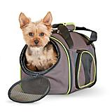 KH Mfg Classy Go Brown/Green Dog Carrier