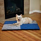 KH Mfg Quilted Memory Blue Dream Dog Pad