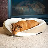 KH Mfg Huggy Nest Green/Tan Pet Bed