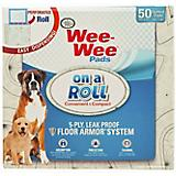 Four Paws Wee-Wee Paisley Puppy Pads Roll 50 count