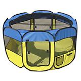 Pet Life All-Terrain Travel Pet Playpen Blue