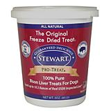 Stewart Freeze Dried Bison Liver Dog Treat