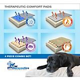 Enchanted Home Pet 4 Piece Therapy Dog Bed Pad Set