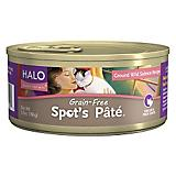 Halo Spots Pate Grain Free Salmon Can Cat Food