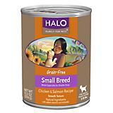 Halo Grain Free Chicken Small Breed Can Dog Food