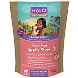 Halo Spots Stew Healthy Weight Toy Dry Dog Food