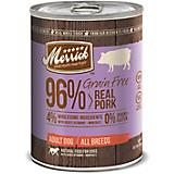 Merrick Grain Free 96 Pork Can Dog Food 12pk