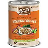 Merrick Classic Working Dog Stew Can Dog Food 12pk