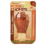 Premium Pork Chomps Chicken Drumstick Dog Chew