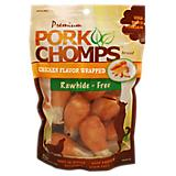 Premium Pork Chomps Small Drumstick Dog Chew 8PK