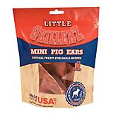 Little GrillerZ Mini Pig Ears Dog Chew 6 Count