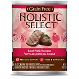 Holistic Select Grain Free Beef Can Dog Food