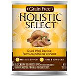 Holistic Select Grain Free Duck Can Dog Food