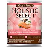 Holistic Select Grain Free Salmon Can Dog Food
