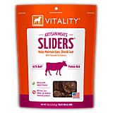 Dogswell Vitality Artisan Beef Sliders Dog Treat