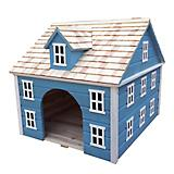 Home Bazaar Nantucket Colonial Dog House Blue