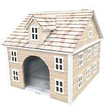 Home Bazaar Nantucket Colonial Dog House Yellow