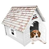 Home Bazaar Victoria Dog House White