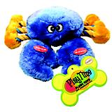 Playtime Plush Crab w/Rope Dog Toy