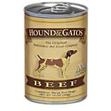 Hound and Gatos Beef Can Dog Food 12pk