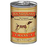 Hound and Gatos Trout Can Dog Food 12pk