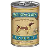 Hound and Gatos Rabbit Can Dog Food 12pk