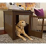 InnPlace Pet Crate with Metal Spindles Russett