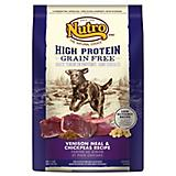 Nutro High Protein Grain Free Venison Dry Dog Food