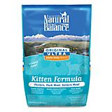Natural Balance Whole Body Dry Kitten Food