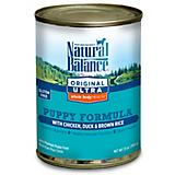 Natural Balance Whole Body Can Puppy Food