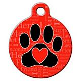 A Dogs Word Pet ID Tag