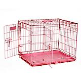 Petmate Pink 2-Door Training Retreat Kennel