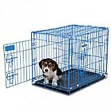 Petmate Blue Puppy 2-Door Training Retreat Kennel