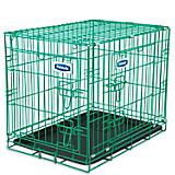 Petmate Green Puppy 2-Door Training Retreat Kennel