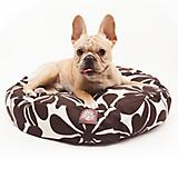 Outdoor Chocolate Plantation Round Pet Bed